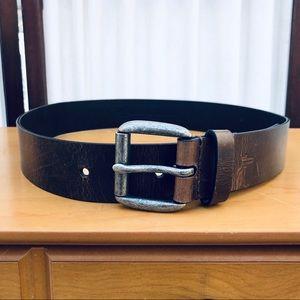 HP❤️Frye Jet Leather Belt NEW